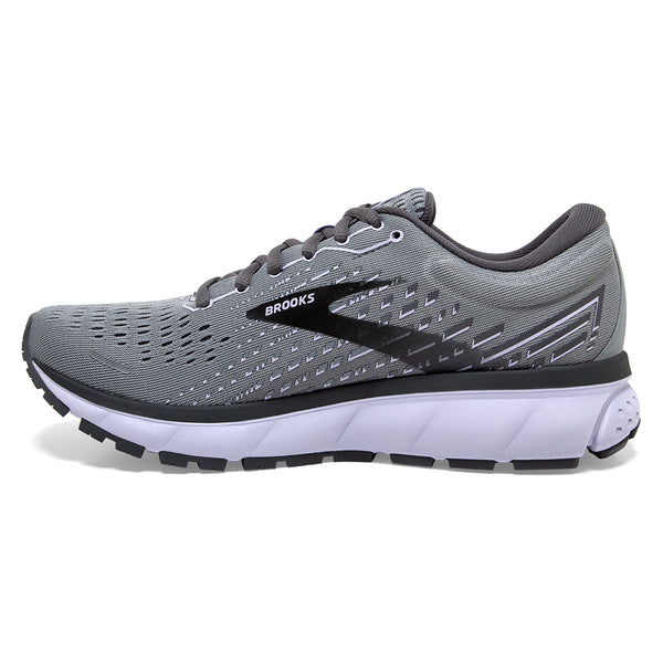 Brooks Ghost 13 Grey/Pearl/Purple at Mar-Lou Shoes