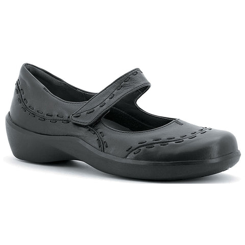 Ziera Gummibear Mary Jane in Black at Mar-Lou Shoes