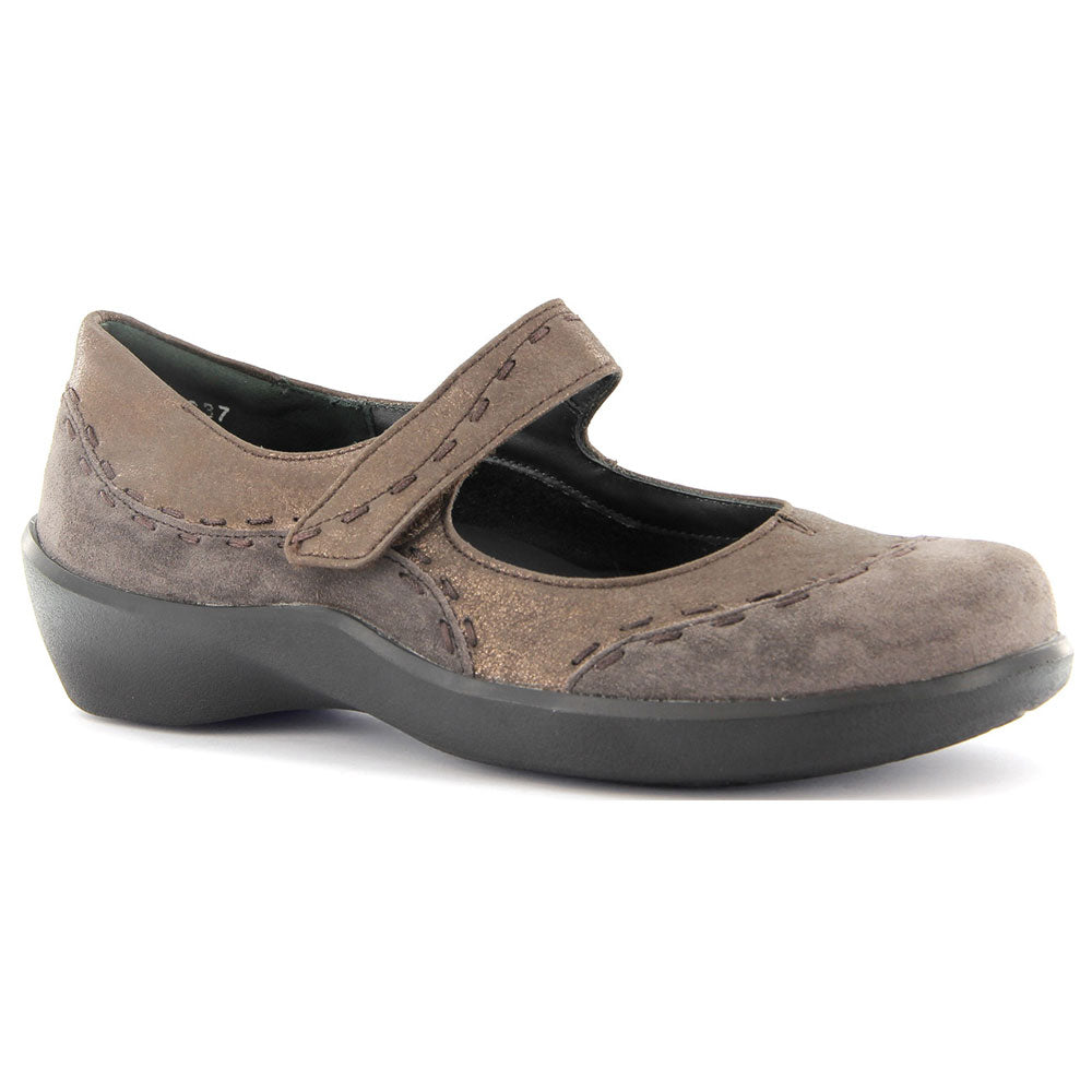 Ziera Gummibear Mary Jane in Espresso Brown found at Mar-Lou Shoes