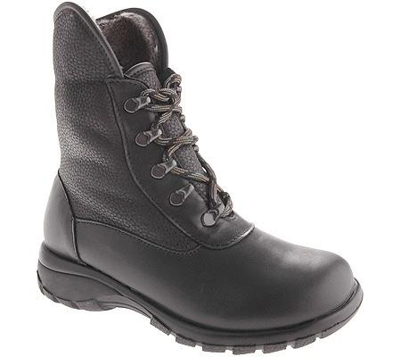 Toe Warmers Harbor Waterproof Boot in Black at Mar-Lou Shoes