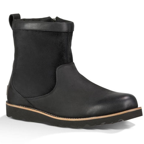 Hendren TL in Waterproof Black Leather