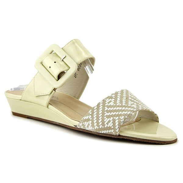 Rose Petals Jada Sandal Wheat Patent at Mar-Lou Shoes