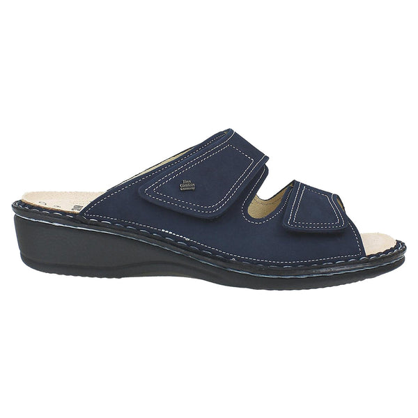 Finn Comfort Jamaica Sandal Atlantic Patagonia Nubuck at Mar-Lou Shoes