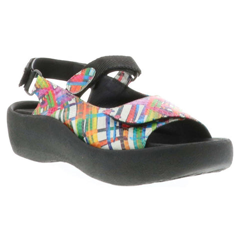 Wolky Jewel Sandal in Multi Color Van Gogh at Mar-Lou Shoes
