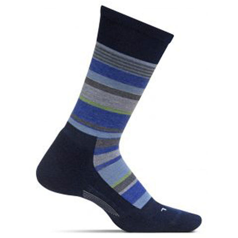 Men's Be Bold Cushion Crew Socks in Navy