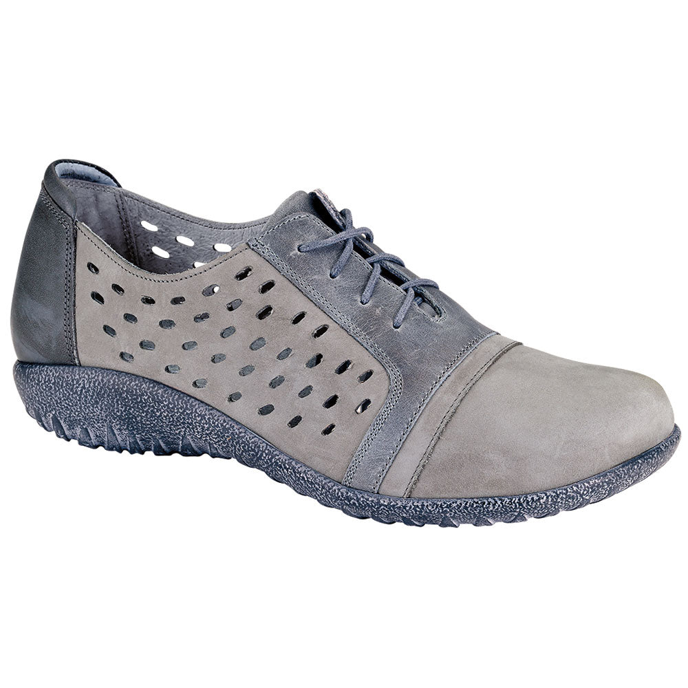 Naot Lalo in Grey Nubuck at Mar-Lou Shoes