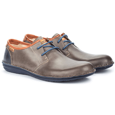 Pikolinos Santiago M8M-4298C1 in Dark Grey Leather at Mar-Lou Shoes