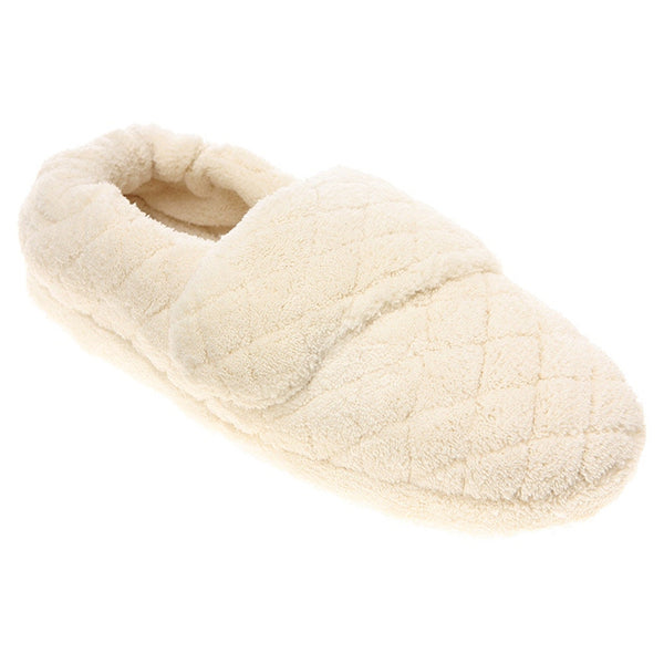 Acorn Spa Wrap Slippers in Natural at Mar-Lou Shoes