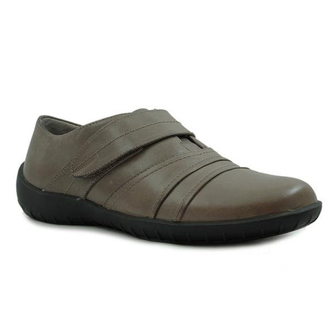 Cone Casual Shoe in Taupe Leather