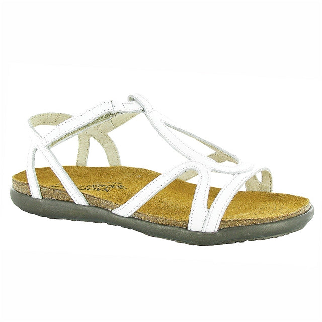 Dorith Sandal in White Leather