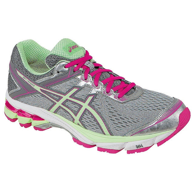 Women's GT-1000-4 Women's Running Shoe in Silver/Pistachio