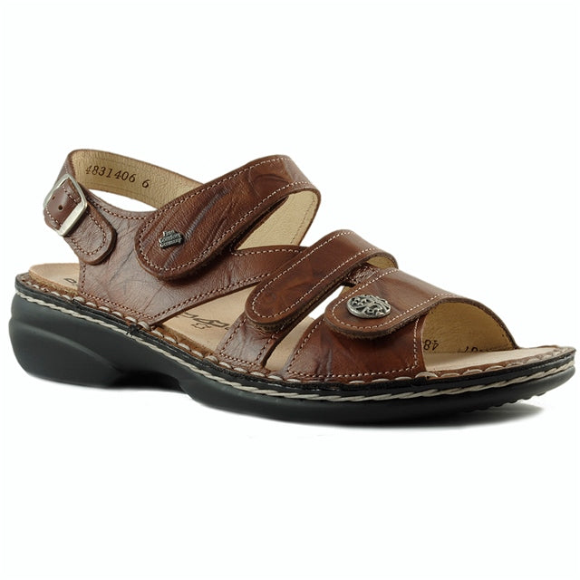 Gomera Sandal in Cognac Leather