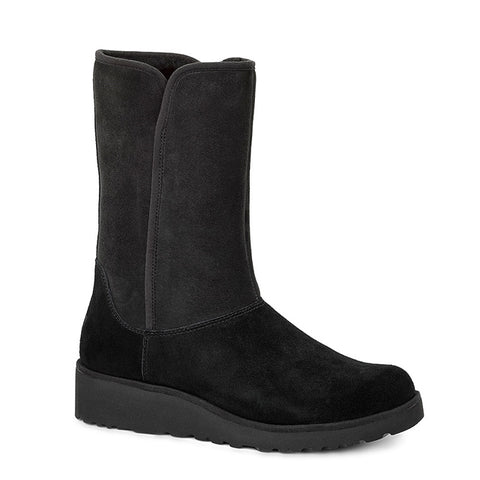 Amie Boot in Black Suede