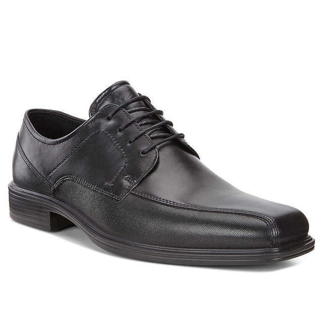 ECCO Johannesburg in Black Leather at Mar-Lou Shoes