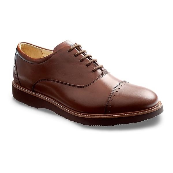 Market Cap Oxford in Whiskey Leather