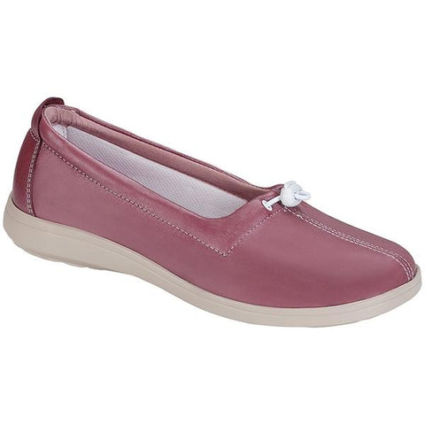 SAS Funk Loafer in Rose Leather at Mar-Lou Shoes