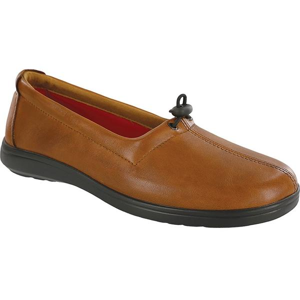 SAS Funk Loafer in Tan Leather at Mar-Lou Shoes