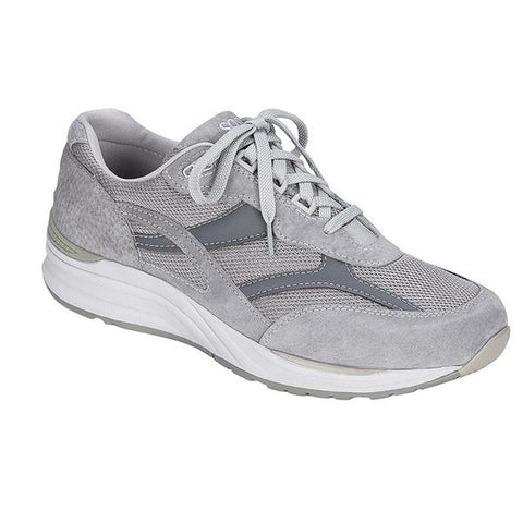 SAS Journey Mesh in Grey Nubuck at Mar-Lou Shoes