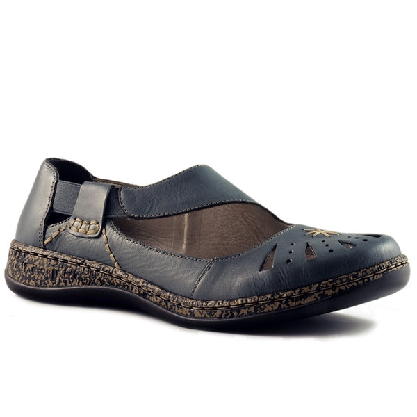 46315-12 Daisy 15 in Denim Leather