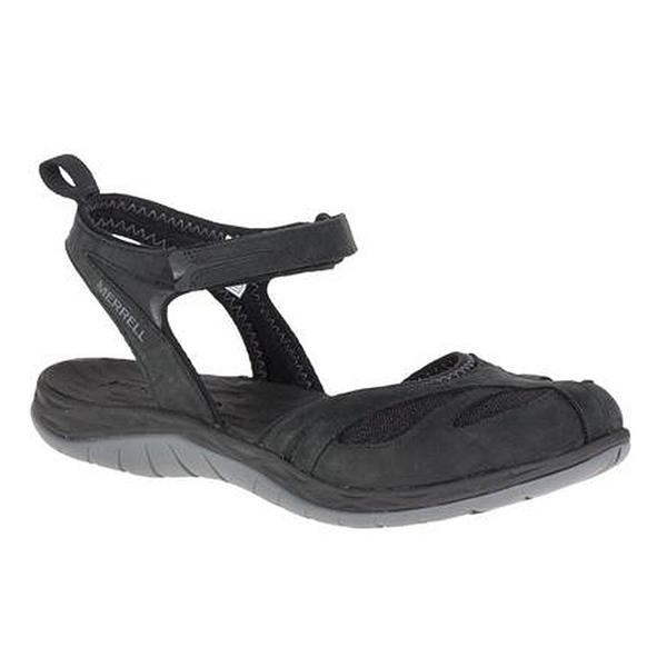 Siren Wrap Q2 Sandal in Black