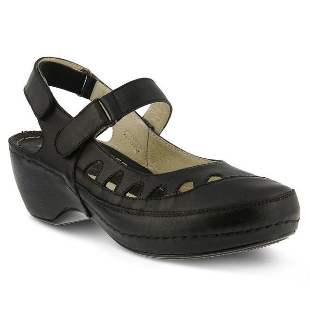 Surina Sandal in Black Leather