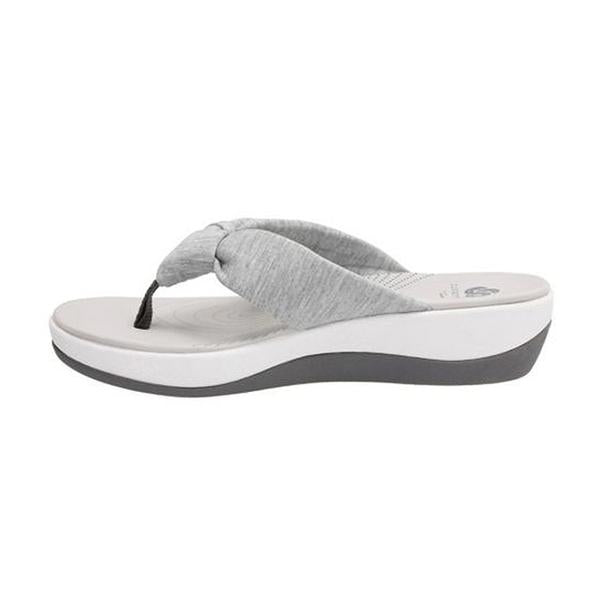 da300ebcd Arla Glison Sandal in Grey Fabric Found at Mar-Lou Shoes in ...
