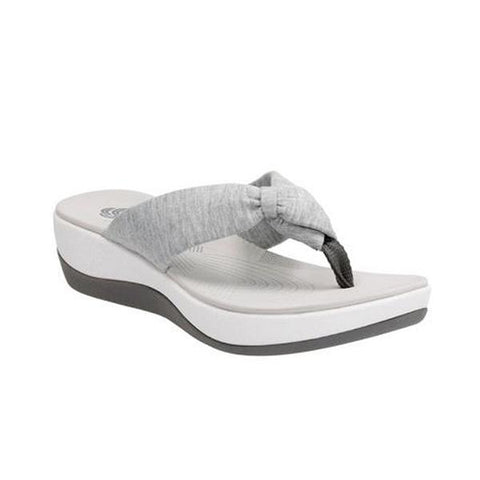 Arla Glison Sandal in Grey Fabric
