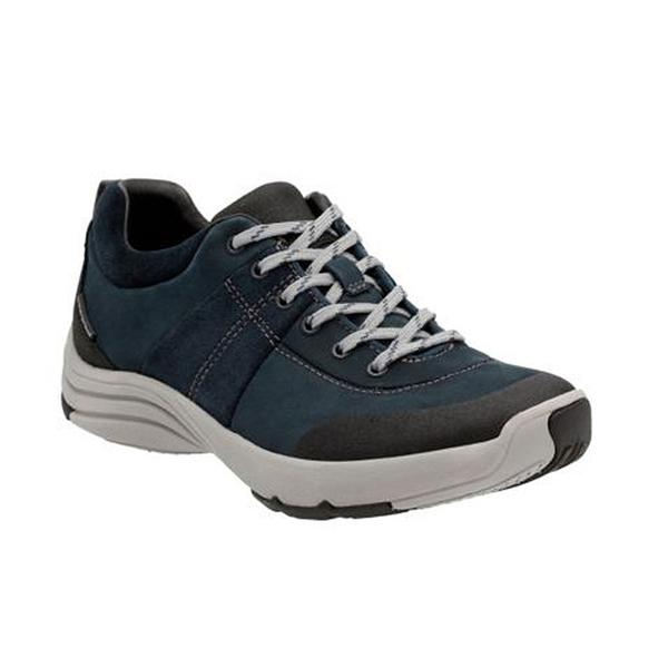 Wave Andes in Navy Nubuck
