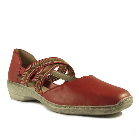 D1647-33 in Rosso Red Leather