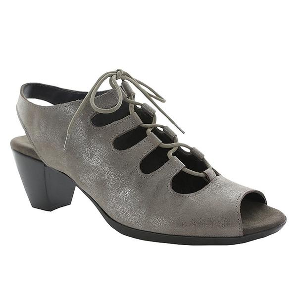 Jillie Sandal in Pewter Metallic Nubuck