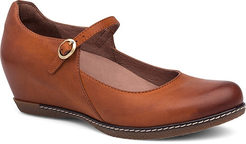 Loralie Mary Jane in Saddle Burnished Nubuck