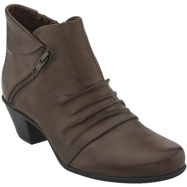 Pegasus Ankle Boot in Almond Leather