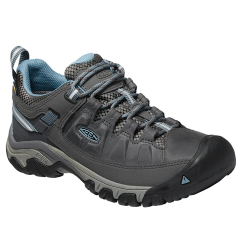Keen Women's Targhee III Waterproof Magnet/Atlantic Blue | Mar-Lou Shoes
