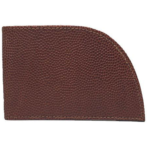 Rogue Industries Front Pocket Wallet in Mahogany Football Leather