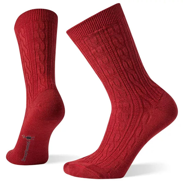 Smartwool Women's Cable II Socks Masala | Mar-Lou Shoes