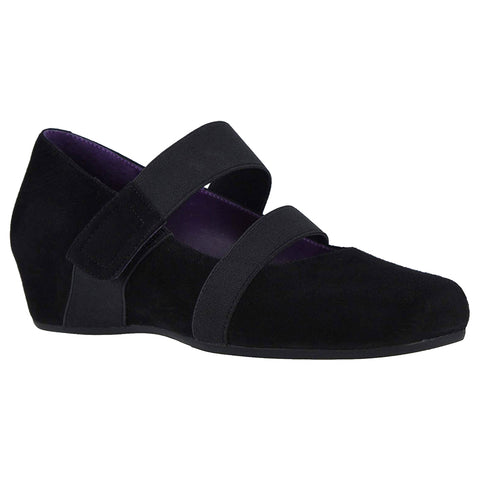 Vaneli Melle Heel in Black Suede at Mar-Lou Shoes
