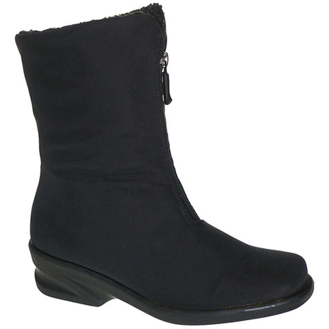 Toe Warmers Michelle Waterproof Boot in Black at Mar-Lou Shoes