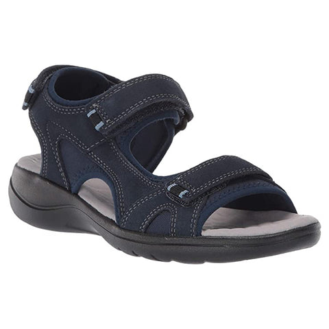Clarks Women's Saylie Spin Sandal Navy | Mar-Lou Shoes