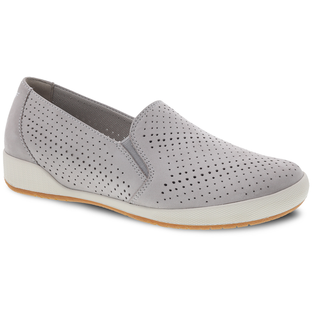Dansko Odina in Cement Nubuck at Mar-Lou Shoes