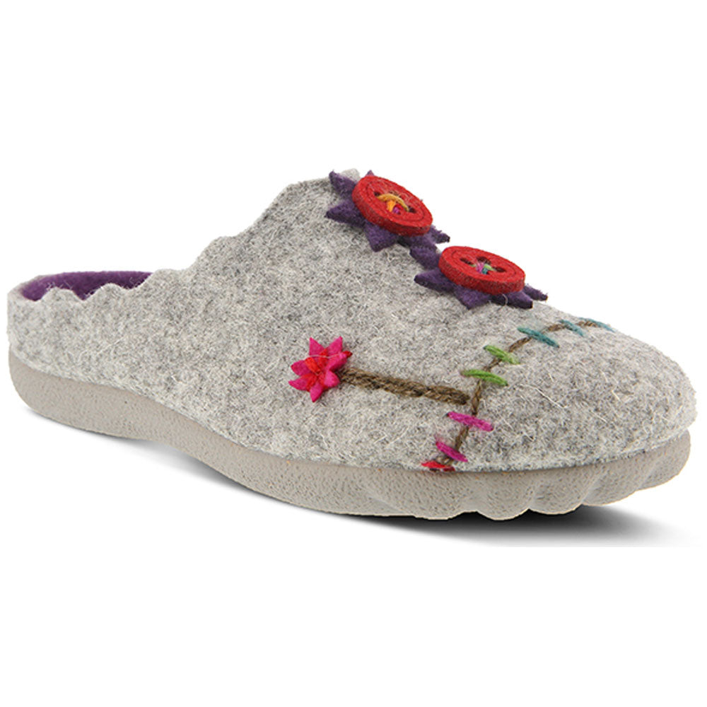 Piketfens Slipper in Grey
