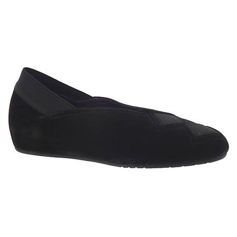 Vaneli Pandy in Black Suede at Mar-Lou Shoes