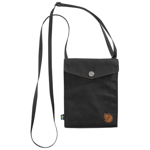 Fjällräven Unisex Pocket Sized Shoulder Bag Dark Grey | Mar-Lou Shoes