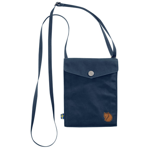 Fjällräven Unisex Pocket Sized Shoulder Bag Navy | Mar-Lou Shoes