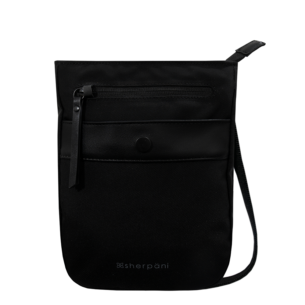 Sherpani Prima AT Crossbody in Carbon at Mar-Lou Shoes