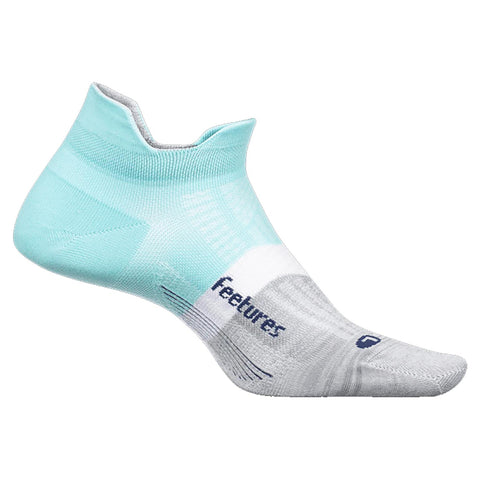 Feetures Elite Max Cushion No Show Tab Socks Purist Blue | Mar-Lou Shoes