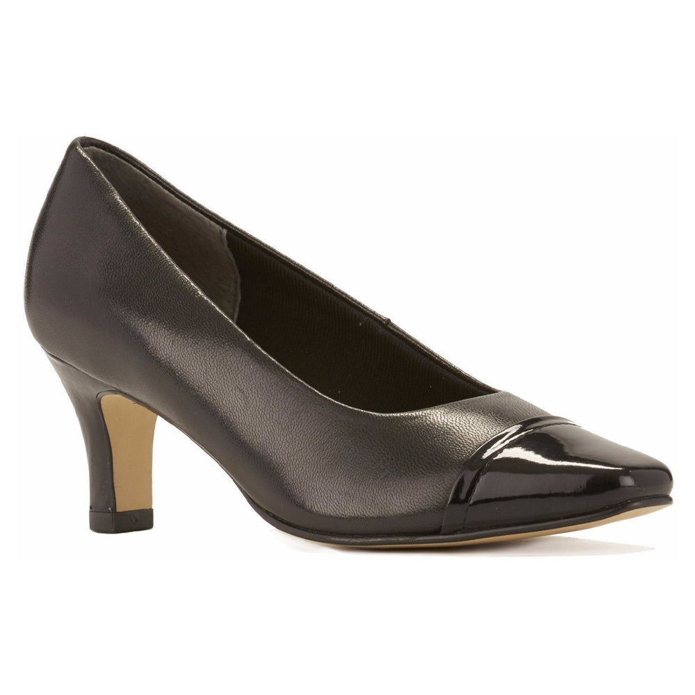 Walking Cradles Race Black Kid/Patent Leather at Mar-Lou Shoes