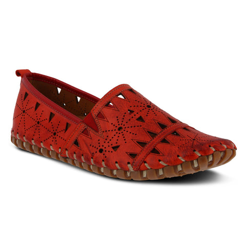Spring Step Women's Fusaro Slip-On Red | Mar-Lou Shoes