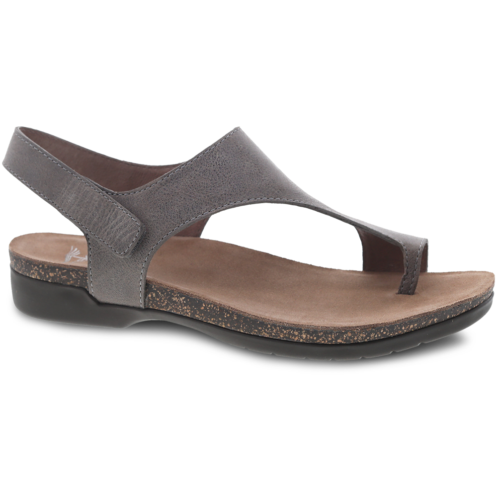 Dansko Reece in Stone Waxy Leather at Mar-Lou Shoes