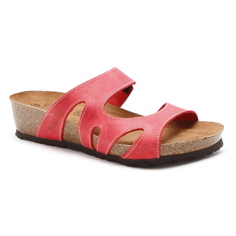 Sabatini Roma Sandal Rosso Crazy at Mar-Lou Shoes