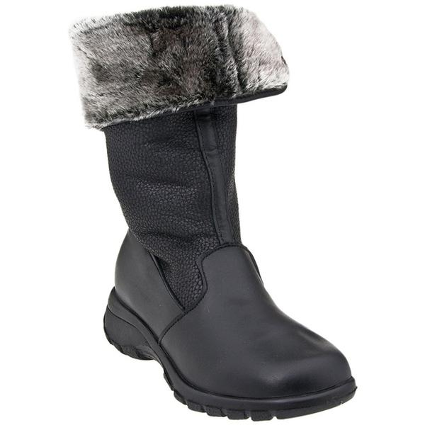 Toe Warmers Shelter Waterproof Boot in Black at Mar-Lou Shoes